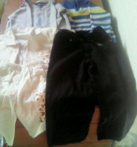 Вещи на мальчика и женская обувь