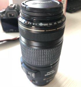 Объектив Canon EF 70-300mm
