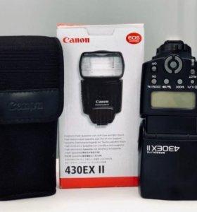 Вспышка Canon Speedlite 430EX II - Б/У