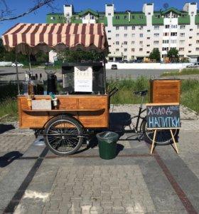 Мобильная вело Кофейня
