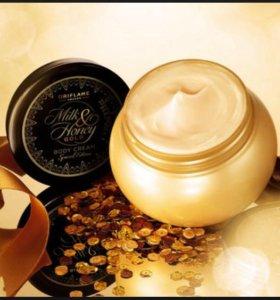 Питательный крем для рук и тела «Молоко и мед »