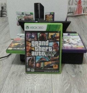 Xbox 360+KINECT+500GB+KINECT+3 игры