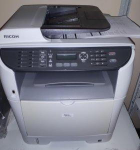 Бу  МФУ Ricoh SP 3410SF принтер сканер копир 3в1
