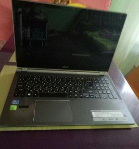 Сенсорный ноутбук Acer Aspire v5