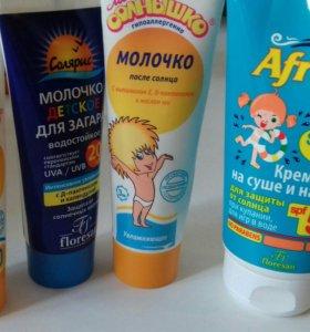 Детские солнцезащитные крема