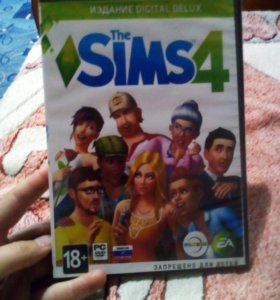 Диск The Sims 4 ( симс 4)