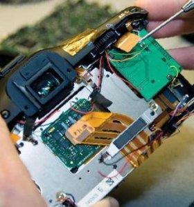 Ремонт зеркальных и компактных фотоаппаратов