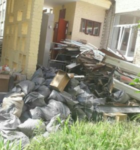 Вывоз мусора  Демонтаж