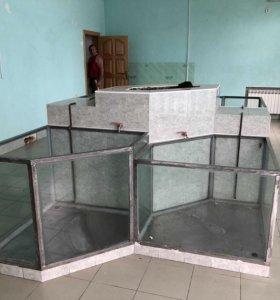 Продам аквариумы для продажи рыбой