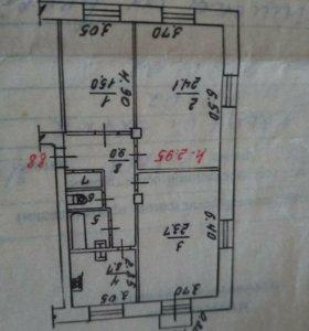 Комната, 23.7 м²