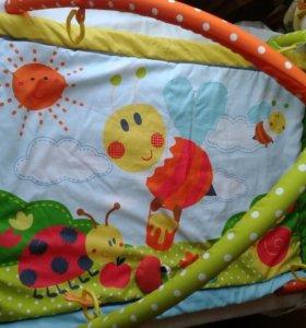 коврик развивающий Жирафики