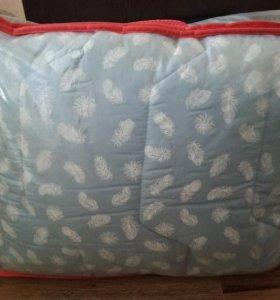 Новое одеяло, лебяжий пух