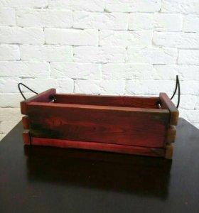 Коробка из массива сосны