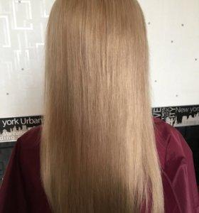 Кератиновое выпрямление, Ботокс, Полировка волос