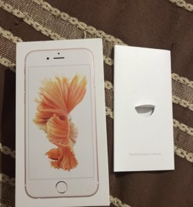 коробка iphone 6s, Rose Gold, 32gb