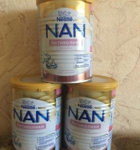 Детское питание NAN антиколики