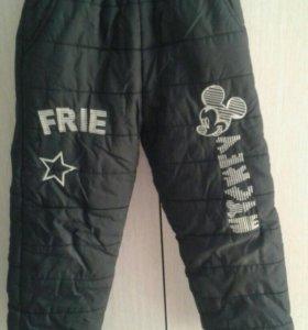 Утепленные штаны и джинсы