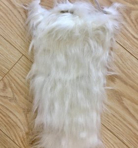 Борода с усами Деда Мороза