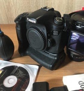 Canon EOS 60D Body + Canon EF-S 18-200mm f3.5-5.6