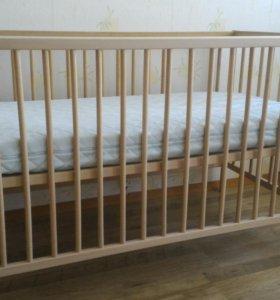 Кроватка детская 60*120