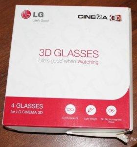 3D очки LG AG-F310 4 шт