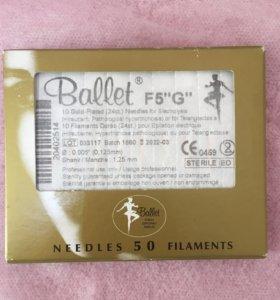 Иглы для электроэпиляции Балет (ballet) золото