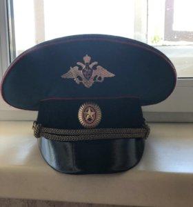Фуражка офицерская МО