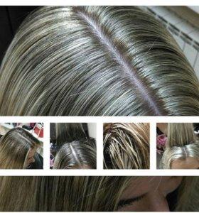 Мелирование волос на дому