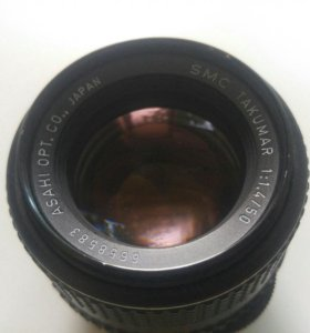 Обьектив Smc takumar 1,4\50mm