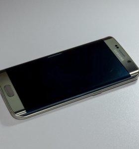 Samsung Galaxy S6 Edge 128GB Золотой [Хороший]