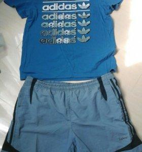 Шорты и футболка adidas