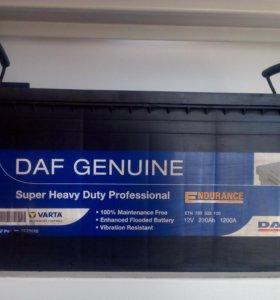 Оригинальные Аккумуляторы DAF 230Ah 1200A 12V