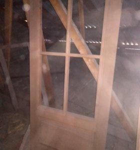 Двери деревянные новые межкомнатные