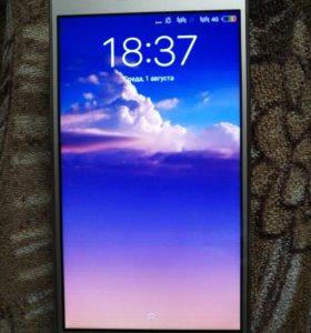 Смартфон Redmi3 32гб.цвет золото корпус железный