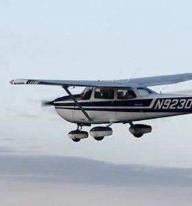 Полёт за штурвалом самолёта