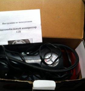 Автомобильный компрессор 12В