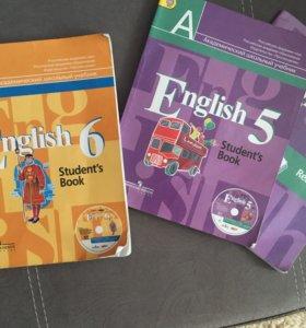 Учебник английского 5,6 класс