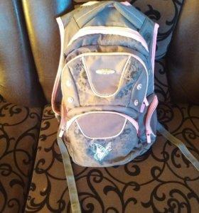 Школьный рюкзак три отделе по бокам 2