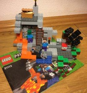Лего набор Minecraft «Пещера»