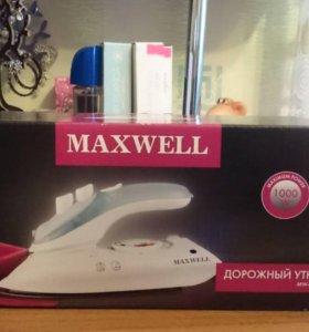 Дорожный утюг MAXWELL MW-3012