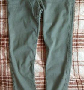 Новые Skinny мужские брюки зеленые хаки,р. 30 (44)