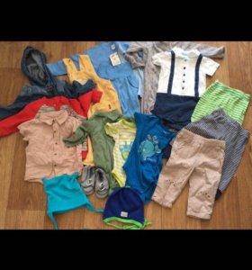 Пакет вещей на мальчика 74 размер