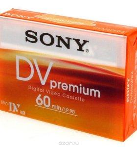 Видеокассеты miniDV Sony Premium