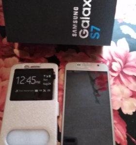 Телефон s7, Китай, к нему новый чехол