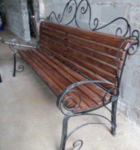 Садовая мебель лавочки, скамейки столы, комплекты.