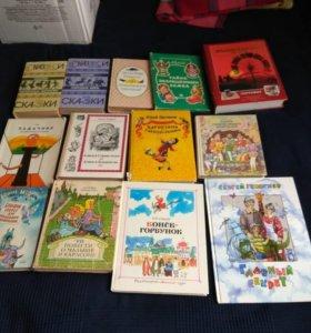 Детские книги, б.у, хорошее состояние 50-100 руб