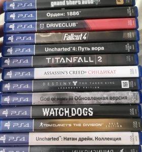 Лицензионные диски PS4