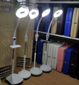 Лампа - лупа косметолога. Яркая и мощная