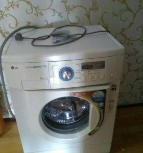 Стиральная машина (стирает хорошо,шум при отжиме)