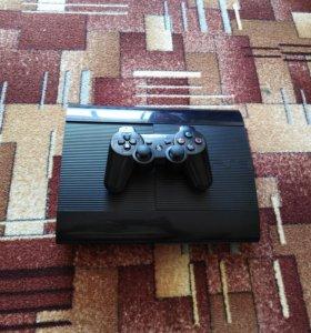 Продаю Sony Playstation 3 super slim